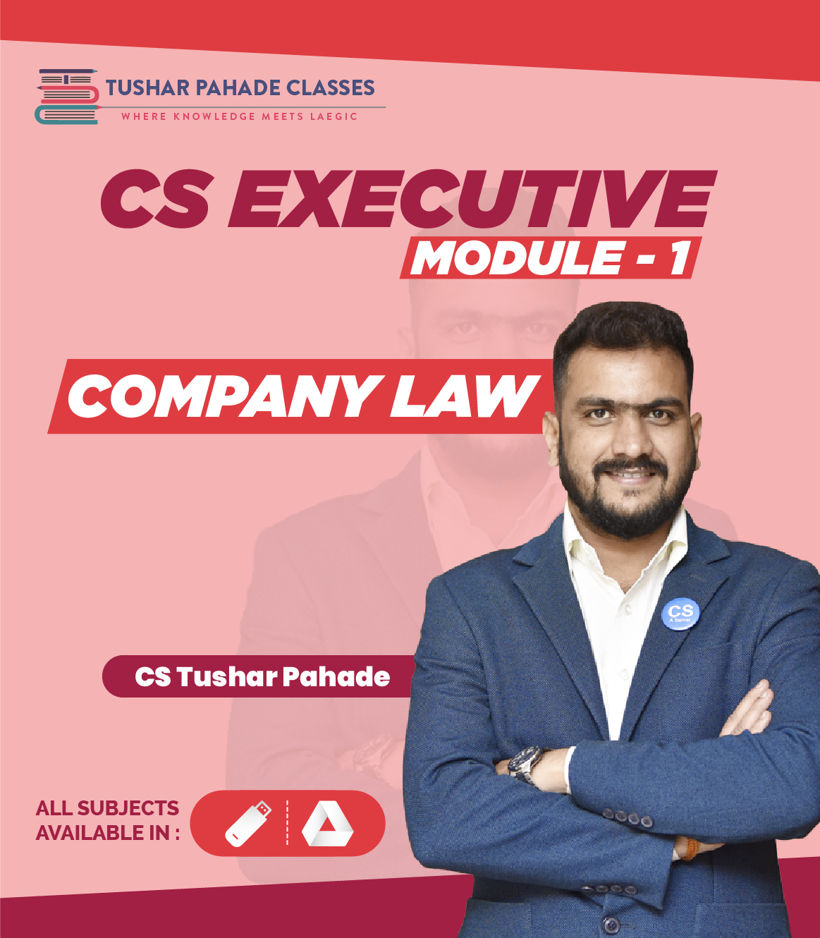 CS Executive Company Law video lectures by CS Tushar Pahade