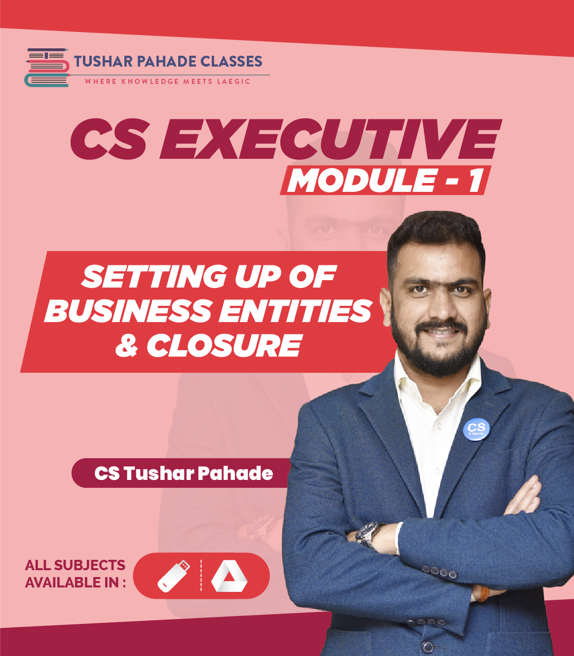 CS Executive Module 1 online classes by CS Tushar Pahade