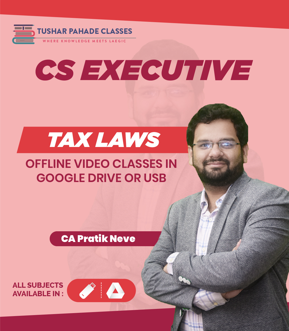 CS Executive Tax law video lectures by CA Pratik Neve