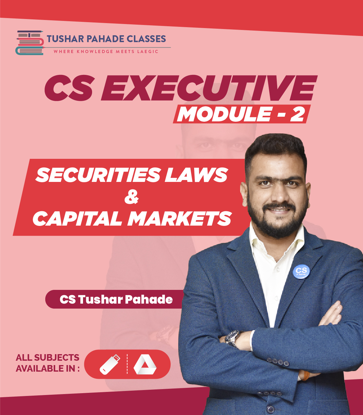 CS Executive Module II pendrive classes by CS tushar Pahade